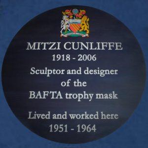 Mitzi Cunliffe Plaque